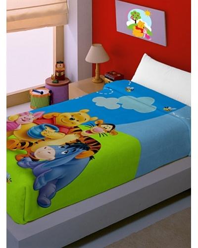 Disney Hogar Manta Terciopelo Winnie de Pooh