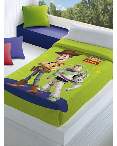 Disney Hogar Manta Terciopelo Toy Story