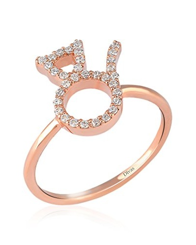 Divas Diamond Anillo Gemstone Cat Dorado