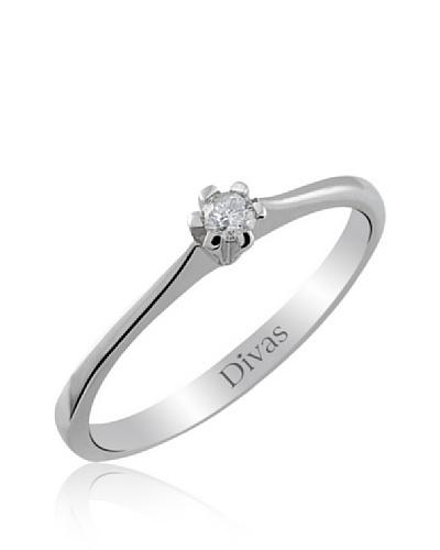 Divas Diamante Anillo Diamante Solitario