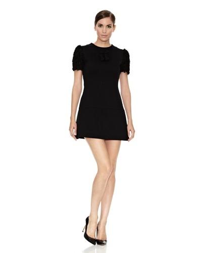 Divina Providencia Mini Vestido Diana Dark Negro