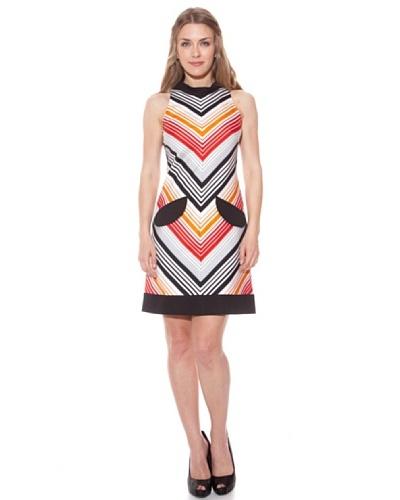 Divina Providencia Vestido Rayas Multicolor