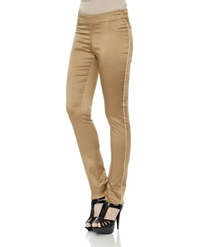 Divina Providencia Pantalón Gold Dorado