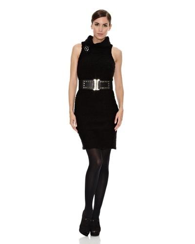 Divina Providencia Vestido Mod Negro