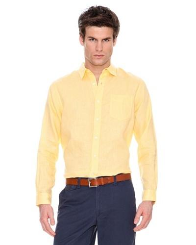 Dockers Camisa de Lino Manga Larga
