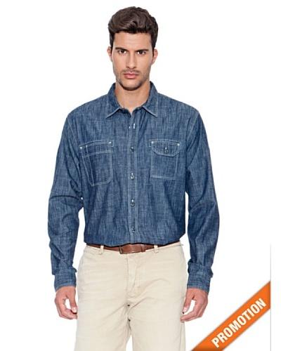 Dockers Camisa Chambray Deluxe