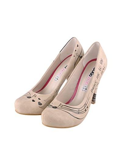 Dogo Zapatos de Tacón Alto Dance Me To The End Of Love