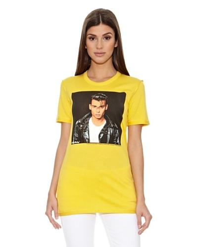 Dolce & Gabbana Camiseta Italia Amarillo
