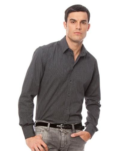 Dolce & Gabbana Camisa Gold Negro
