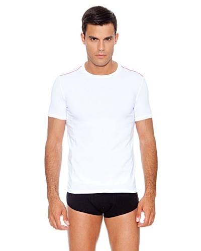 Dolce & Gabbana Camiseta Ribetes Blanco
