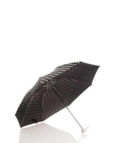 Dots Paraguas Plegables Blanco