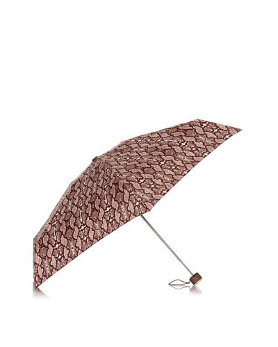 Dots Paraguas Plegable Pitón Marrón