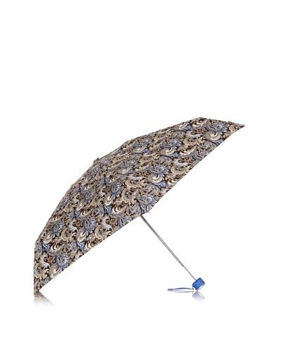 Dots Paraguas Plegable Cachemir Azul