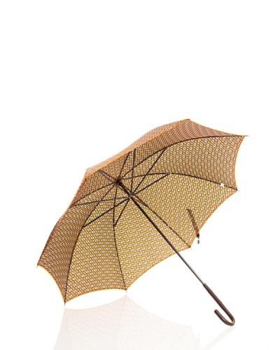 Dots Paraguas Largos Naranja