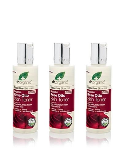 Dr.Organic Set 3 Tónico Facial Rosa de Mosqueta 150Ml (u)