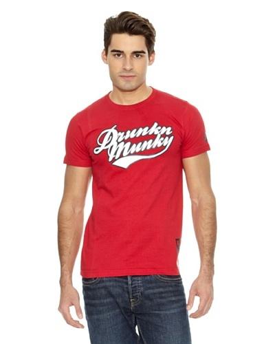 Drunknmunky Camiseta Scripto