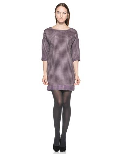 Vestido Agnese Violeta / Beige