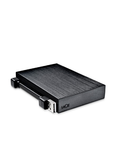 LaCie 1TB Rikiki, 1000 GB, 5400 RPM, USB 2.0, 63.5 mm (2.5 ), 0.480 Gbit/s, 158 g