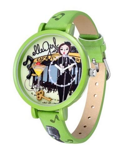 Elle GW40072S01X – Reloj de Señora movimiento de cuarzo con correa de plástico Lima
