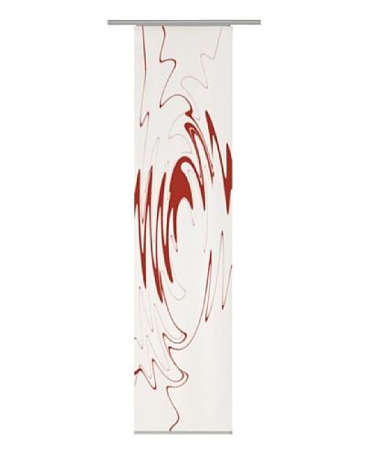 Emotiontextiles Panel chino ondas Blanco / Rojo
