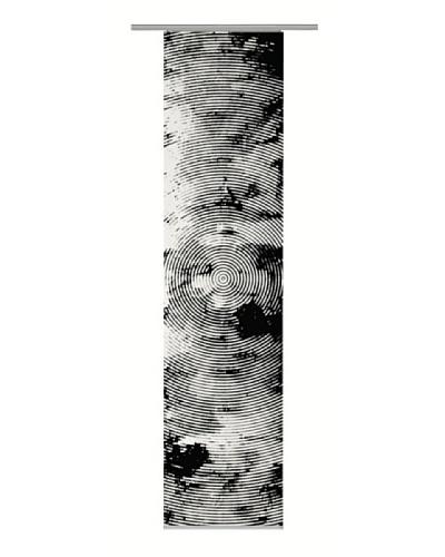 Emotiontextiles Panel chino huella Negro / Blanco