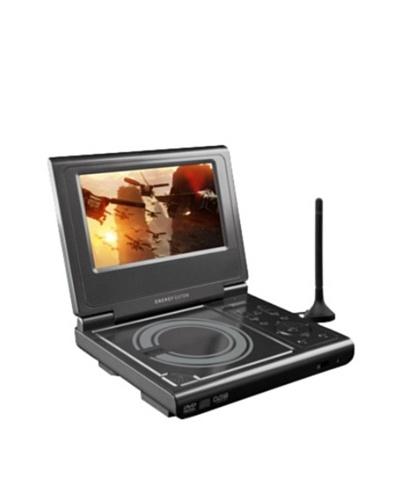 Energy Sistem M3500 TV GRAPHITE - Reproductor de DVD portátil