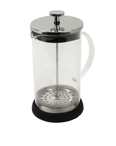 Equinox Cafetera De Émbolo, Cuerpo Y Asa De Vidrio E Inox 600 ml