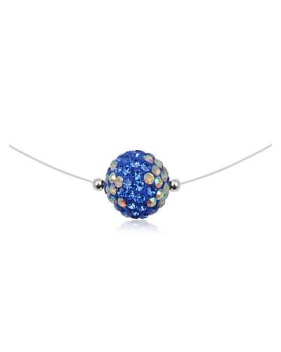 Fashion Victim Collar con Cristales azul