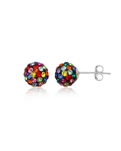 Celebrity Pendientes plata 925 multicolor