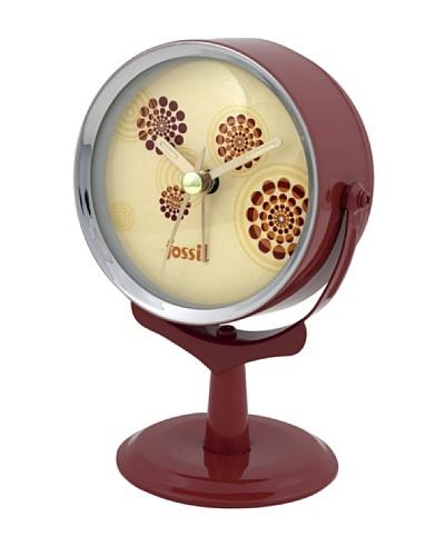 FOSSIL 10258 – Reloj de Sobremesa granate/crema