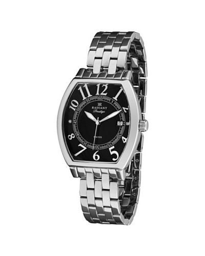 RADIANT 72057 – Reloj de Caballero plata/negro
