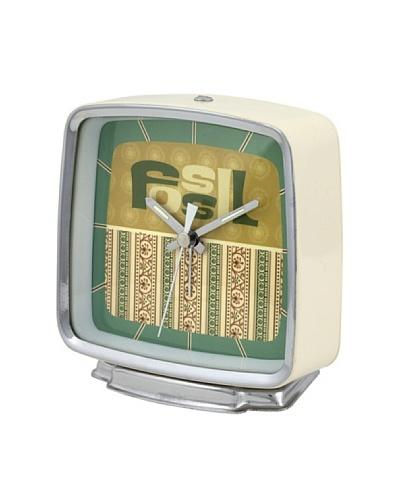 FOSSIL 10274 – Reloj de Sobremesa crema/verde