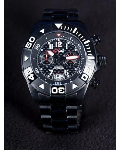 Carbon 14 W17 – Reloj Caballero Movimiento Quarzo Brazalete Metálico Negro