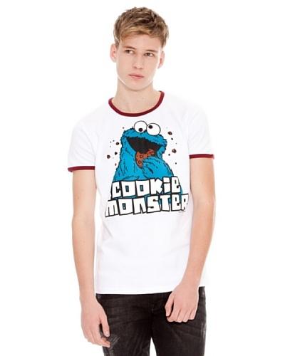 Logoshirt Camiseta Sesame St. Cookie Monster