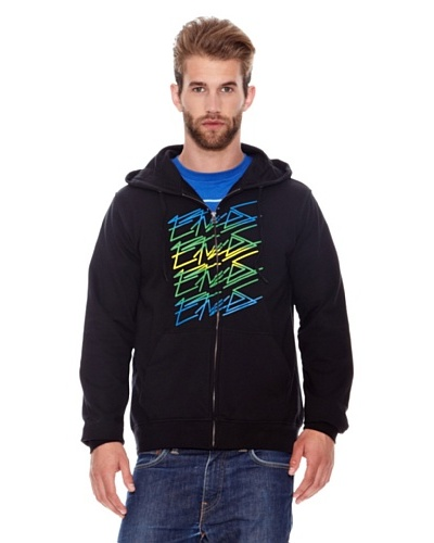Etnies Sudadera Scrip Colors Negro