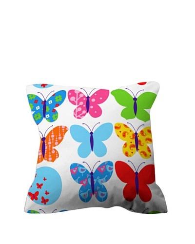 Euromoda Funda de Cojín Farfalle