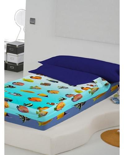 Euromoda Lenceria Hogar Saco Nórdico Sin Relleno Aquarium
