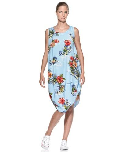 European Culture Vestido Flores
