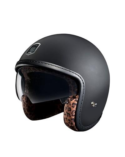 Exklusiv Casco Racer Black Leopard