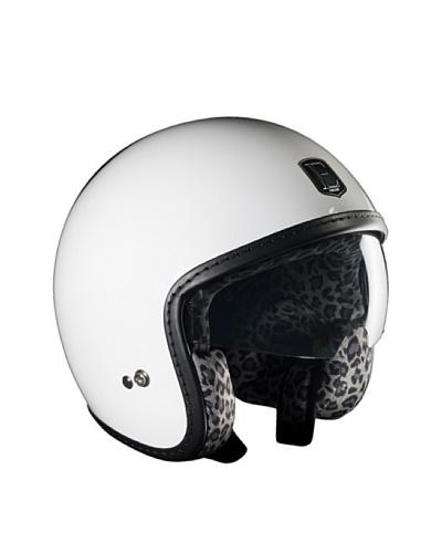 Exklusiv Helmets Casco Racer White Snow Leopard