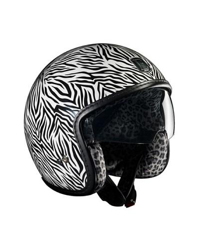 Exklusiv Helmets Casco Racer Zebra