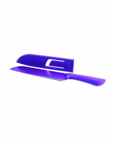 Fackelmann Cuchillo Santoku 20/33cm Happy Colors Purpura