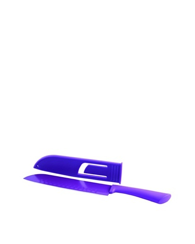 Fackelmann Cuchillo Santoku 20/33 cm Happy Colors Purpura