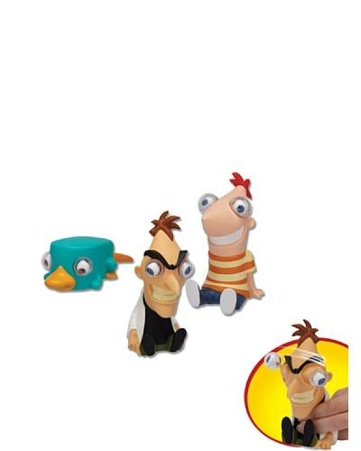 Famosa Phineas And Ferb Figuras Ojos Saltones
