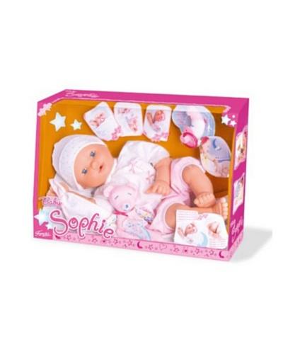 Famosa Muñecas de famosa Baby Shopie - Muñeca bebé con accesorios (42 cm)