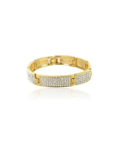 Fashion Victim Pulsera con Cristales dorado
