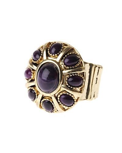 Fashion Victime Anillo Equilibrio violeta