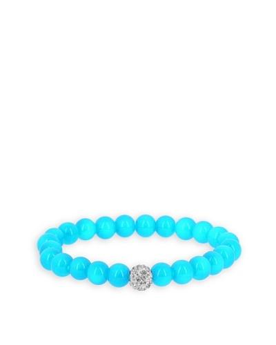 Fashionvictime Pulsera 8299392 Azul / Transparente