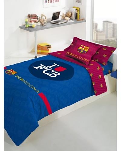 FC Barcelona Juego de Funda Nórdica Escudo