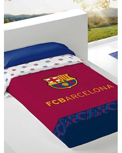 FC Barcelona Colcha Estampada Escudo